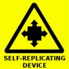 Warning sign for the 21st century - Self-replicating Device