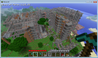 Minecraft - Working CPU with RAM, branching, etc IMG 3