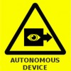 Warning sign for the 21st century - Autonomous Device